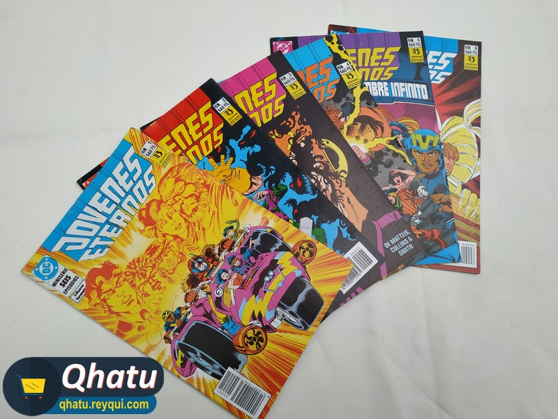 (Bs. 66) DC Comics: Jóvenes Eternos (Colección completa)